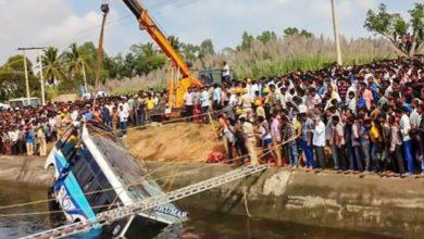 Photo of मप्र: नहर में गिरी यात्री बस, 30 लोगों की मौत; रेस्क्यू ऑपरेशन जारी