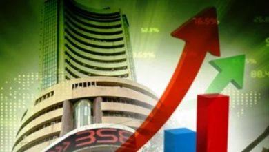 Photo of हरे निशान पर खुले शेयर बाजार, सेंसेक्स 351 अंक ऊपर; निफ्टी में भी तेजी