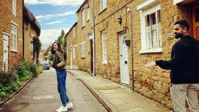 Photo of लंदन की गलियों में एन्जॉय कर रहे अनुष्का-विराट, देखें तस्वीरें