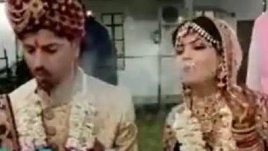 Photo of अपनी शादी में सुट्टा लगाती दिखी दुल्हन, वीडियो हुआ वायरल; लोगों के कही यह बात