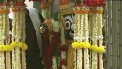 Photo of अहमदाबाद: कोरोना कर्फ्यू में निकाली गई भगवान जगन्नाथ की रथ यात्रा, देखें तस्वीरें