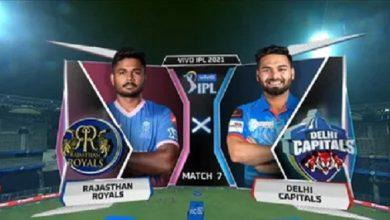 Photo of IPL 2021: दिल्ली की राजस्थान से भिड़ंत आज, ये है संभावित playing X1