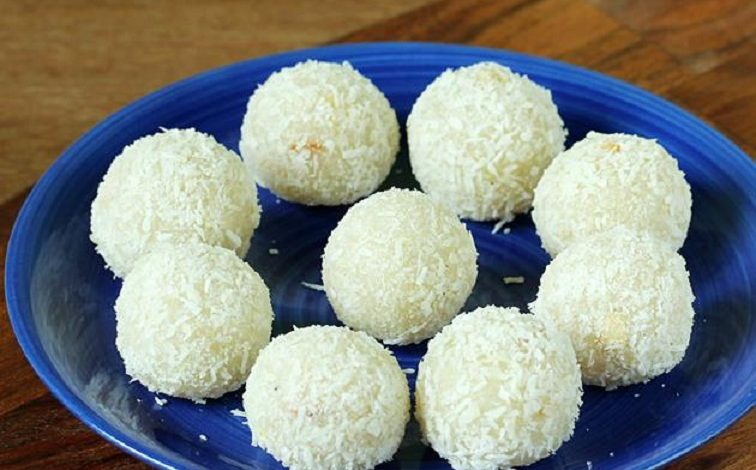 Photo of लो कैलोरी मिठाई है नारियल के लड्डू, घर पर बनाएं ये आसान रेसिपी